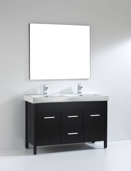 Almandine 48 Inch Espresso Double Sink Vanity Ak Trading Home Options