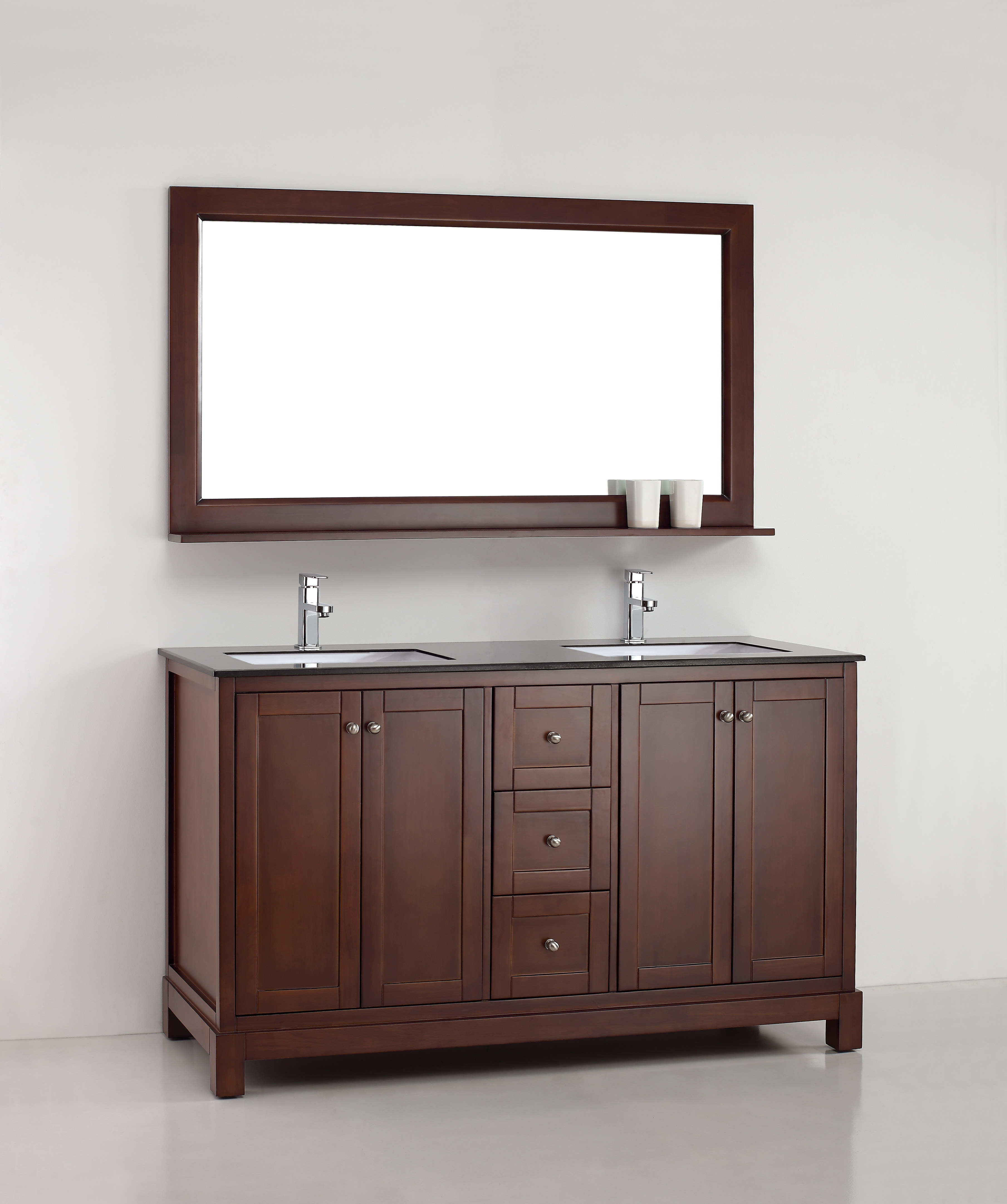 Amazonite 61 Inch Warm Brown Vanity Ak Trading Home Options