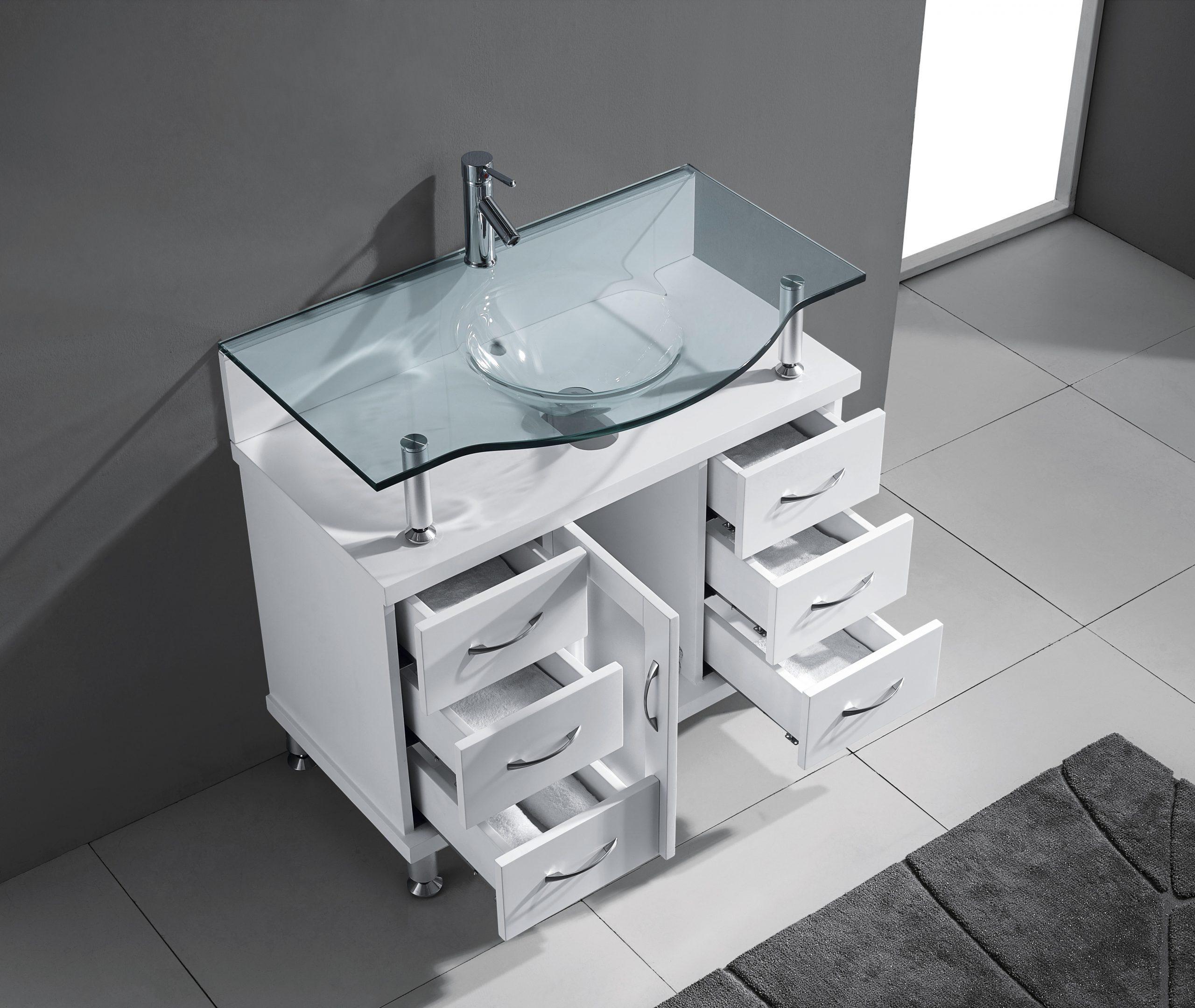 Blue Topaz 32 Inch White Vanity (1)