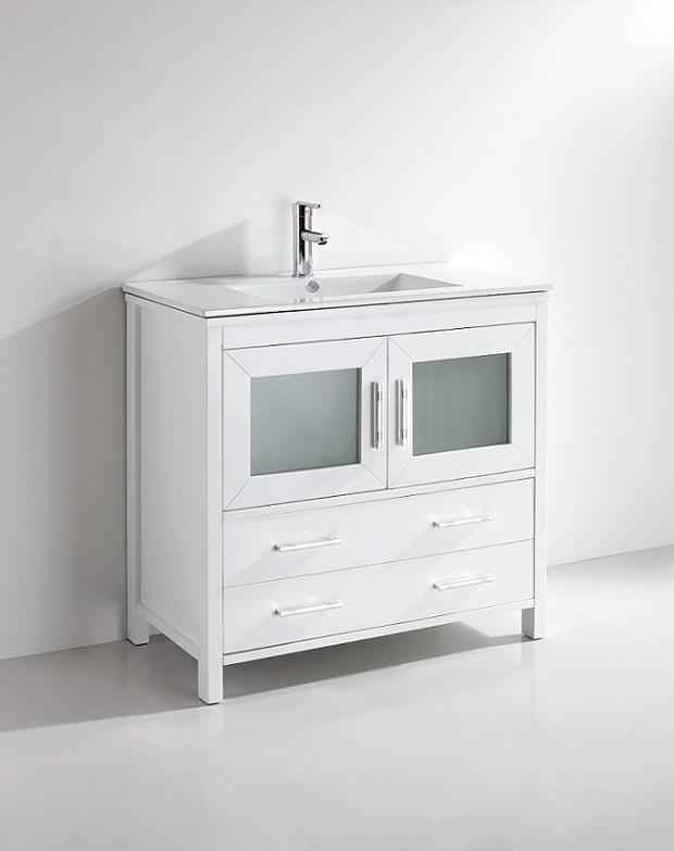 kuroit 30 inch white vanity