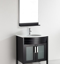 dovite 30 Inch Warm Brown Vanity