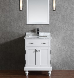 Orion 24 Inch White Vanity