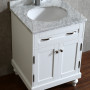 Orion 24 Inch White Vanity 4