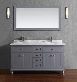 Pictor 60 Inch Grey Vanity