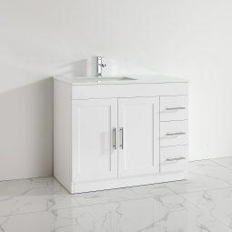 um 42 Inch White Vanity