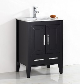 Quartz 24 Inch Light Espresso Vanity