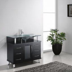 Blue Topaz 40 Inch Espresso Vanity