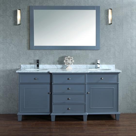 Lyra 73 Inch Charcoal Grey Vanity (1)