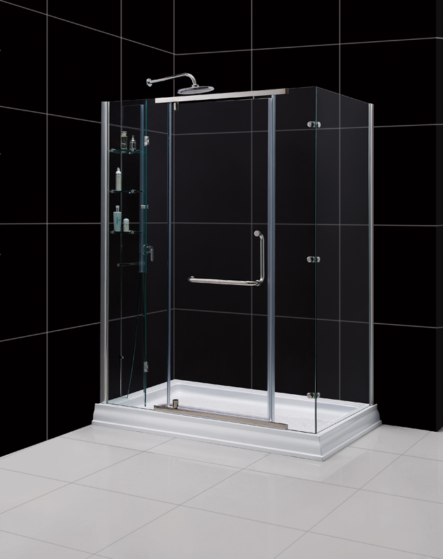 glass piece dp tub x sliding enclosure with base right shower in vigo hardware one winslow enclosures stainless and steel frameless clear included