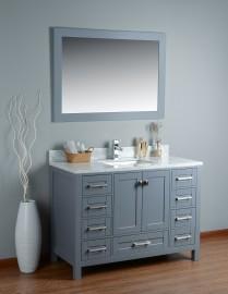 Pavo 48 Inch Grey Vanity 1