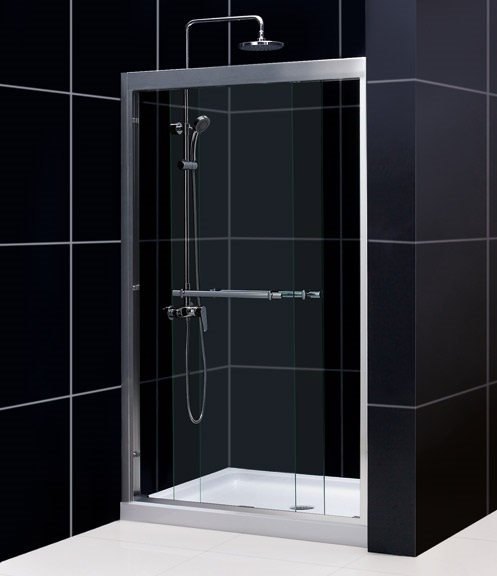 Roxana 48 Inch Shower Sliding Door Ak Trading Home Options