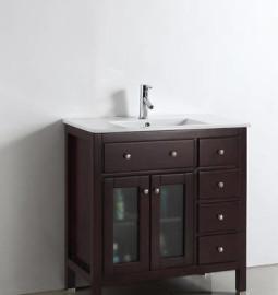 Sapphire 36 Inch Warm Brown Vanity