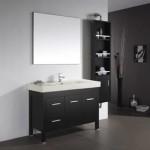 Almandine 48 Inch Single Sink Espresso Vanity