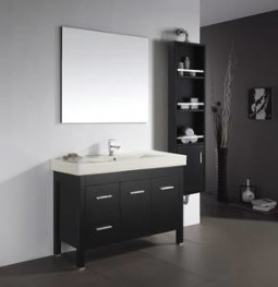 Almandine 48 Inch Single Sink Espresso Vanity
