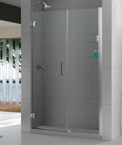 Framless Shower Door & Panel