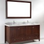 Hawthorn 72 Inch Warm Brown Vanity