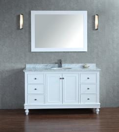 PEGASUS 48 Inch White Vanity