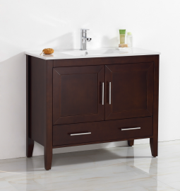 Quartz 30 Inch Warm Brown Vanity