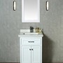 LIR 24 Inch White Vanity