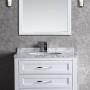 Toscana 36 Inch White Vanity