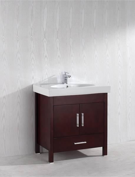 Melange 32 Inch Warm Brown Vanity Ak Trading Home Options