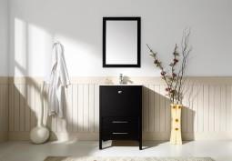 Ara 24 Inch Black Vanity