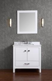 Apus 40 Inch White Vanity