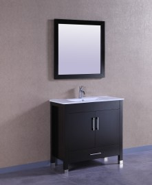 Sunflower 36 Inch Brown Vanity (1)