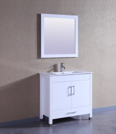 Sunflower 36 Inch White Vanity (1)