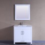 Sunflower 36 Inch White Vanity (2)