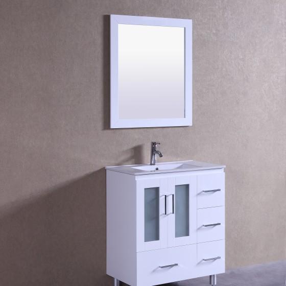 Violet 30 Inch White Vanity (1)
