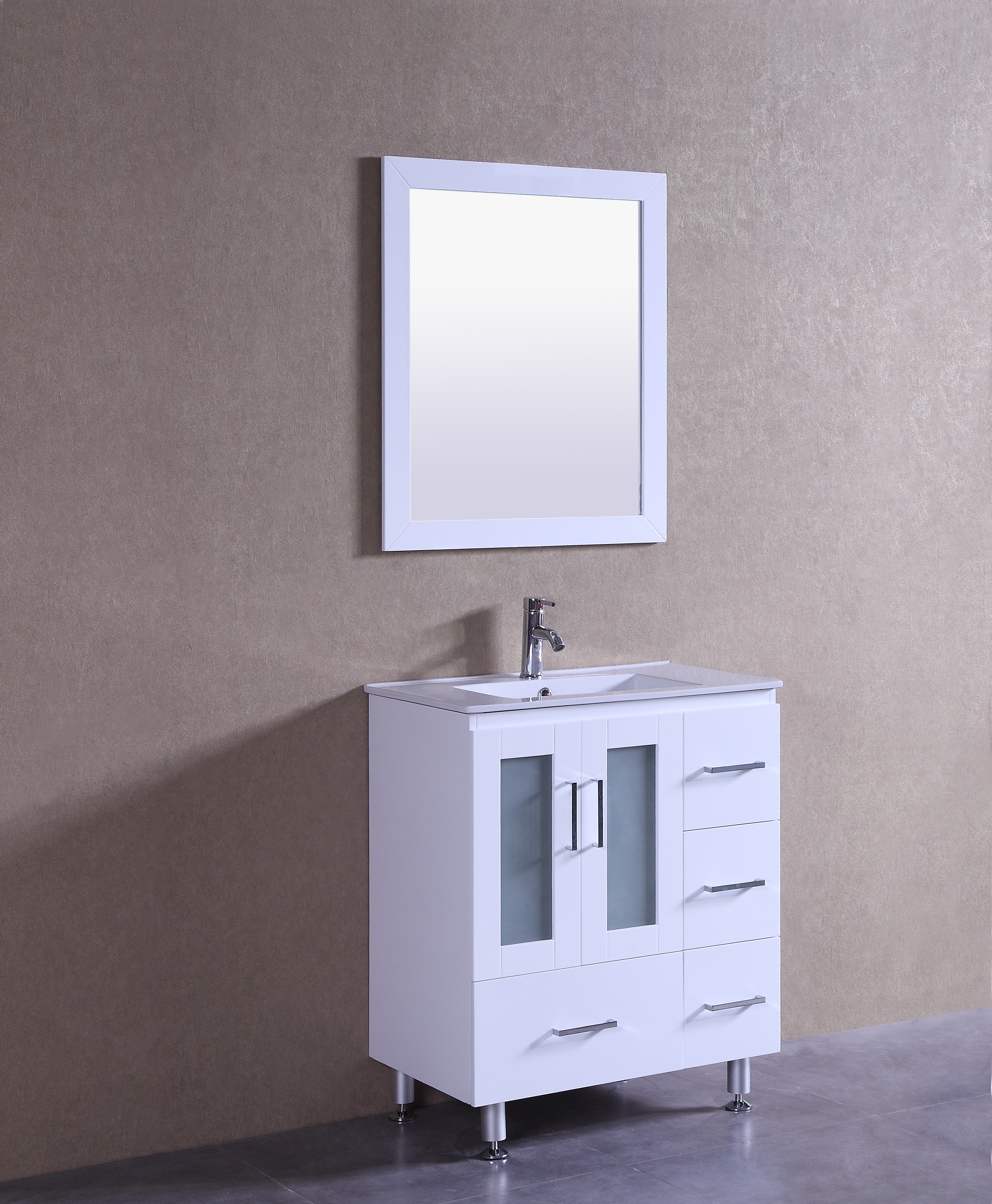Violet 30 Inch White Vanity Ak Trading Home Options