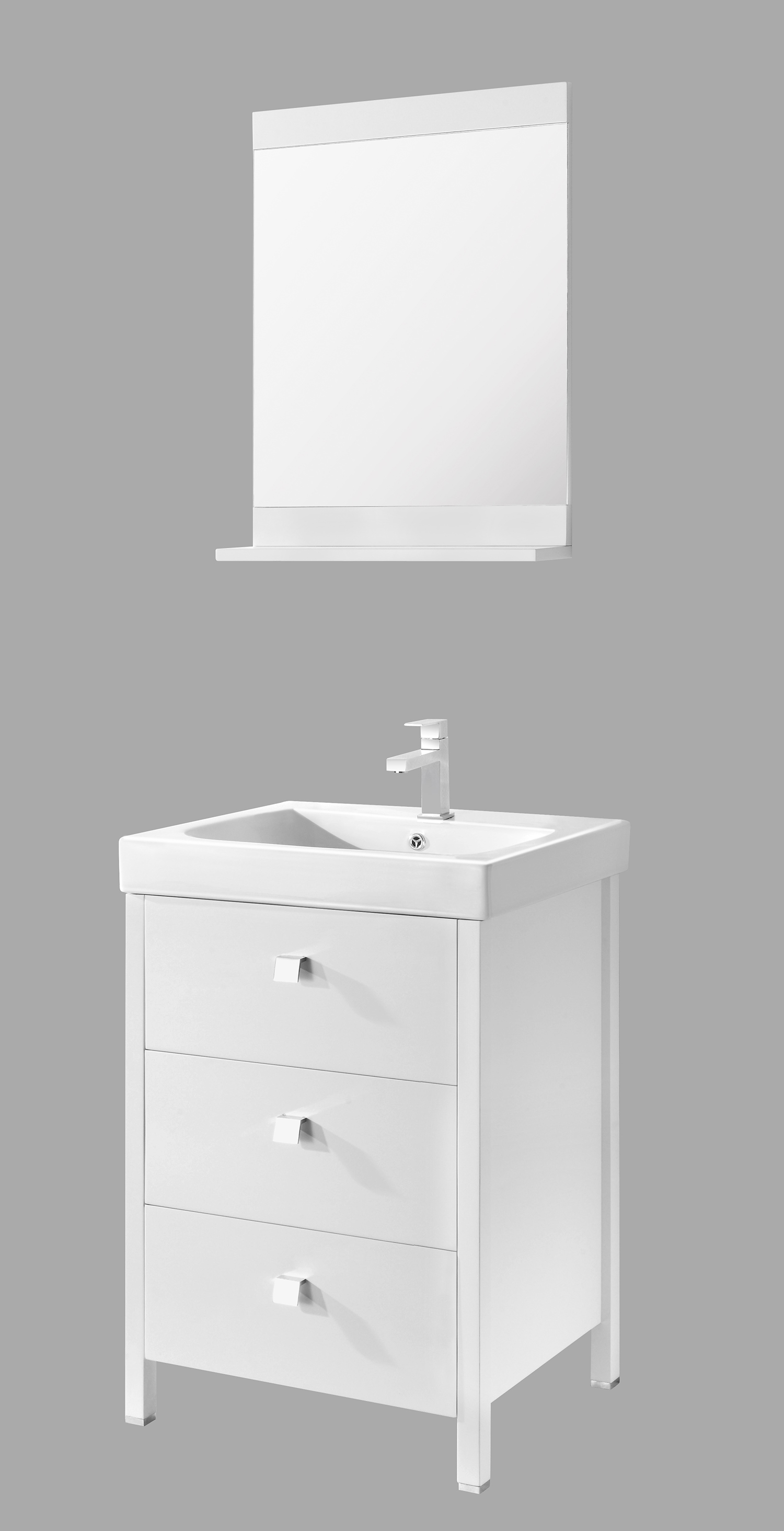 Emerald 24 Inch White Vanity Ak Trading Home Options