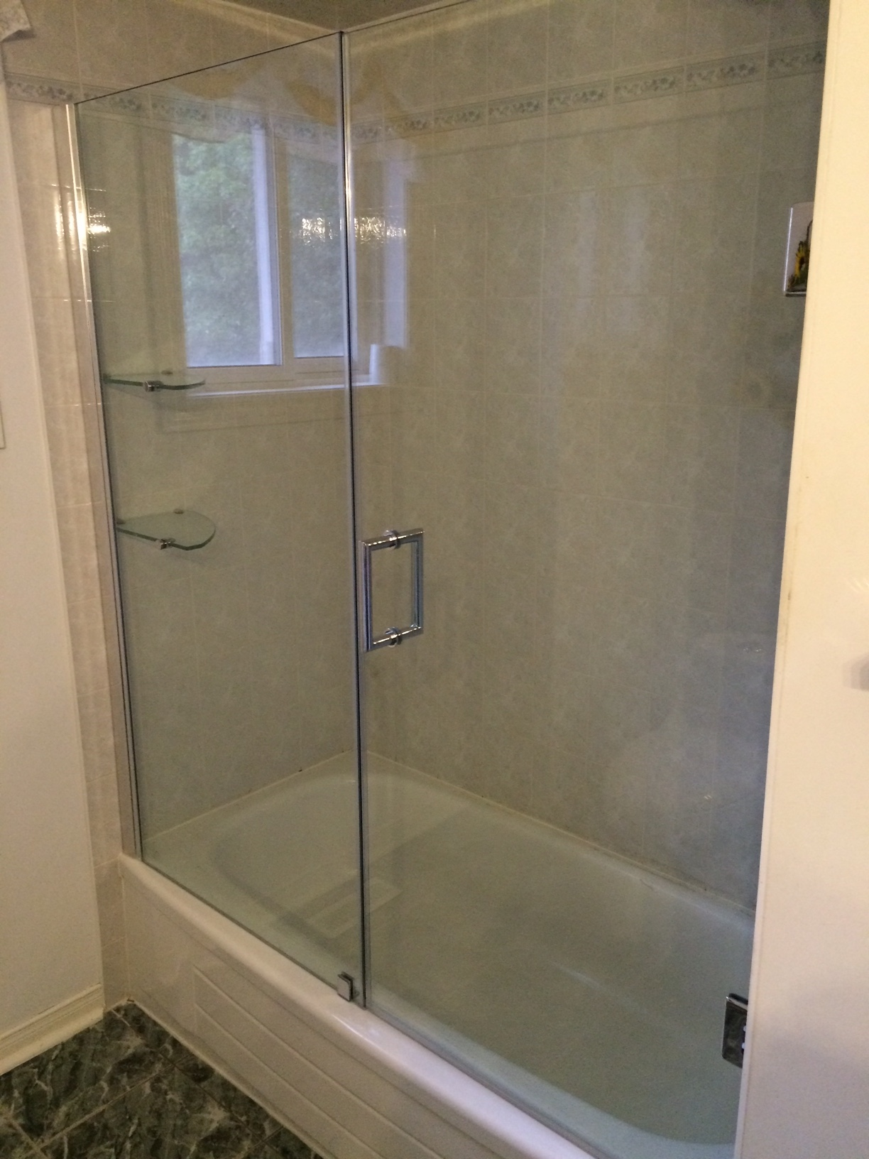 Above Tub Door & Panel | AK Trading Home Options