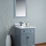 Orion 24 Inch Charcoal Grey Vanity 1