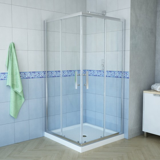 Delta 38 x 38 square shower-2
