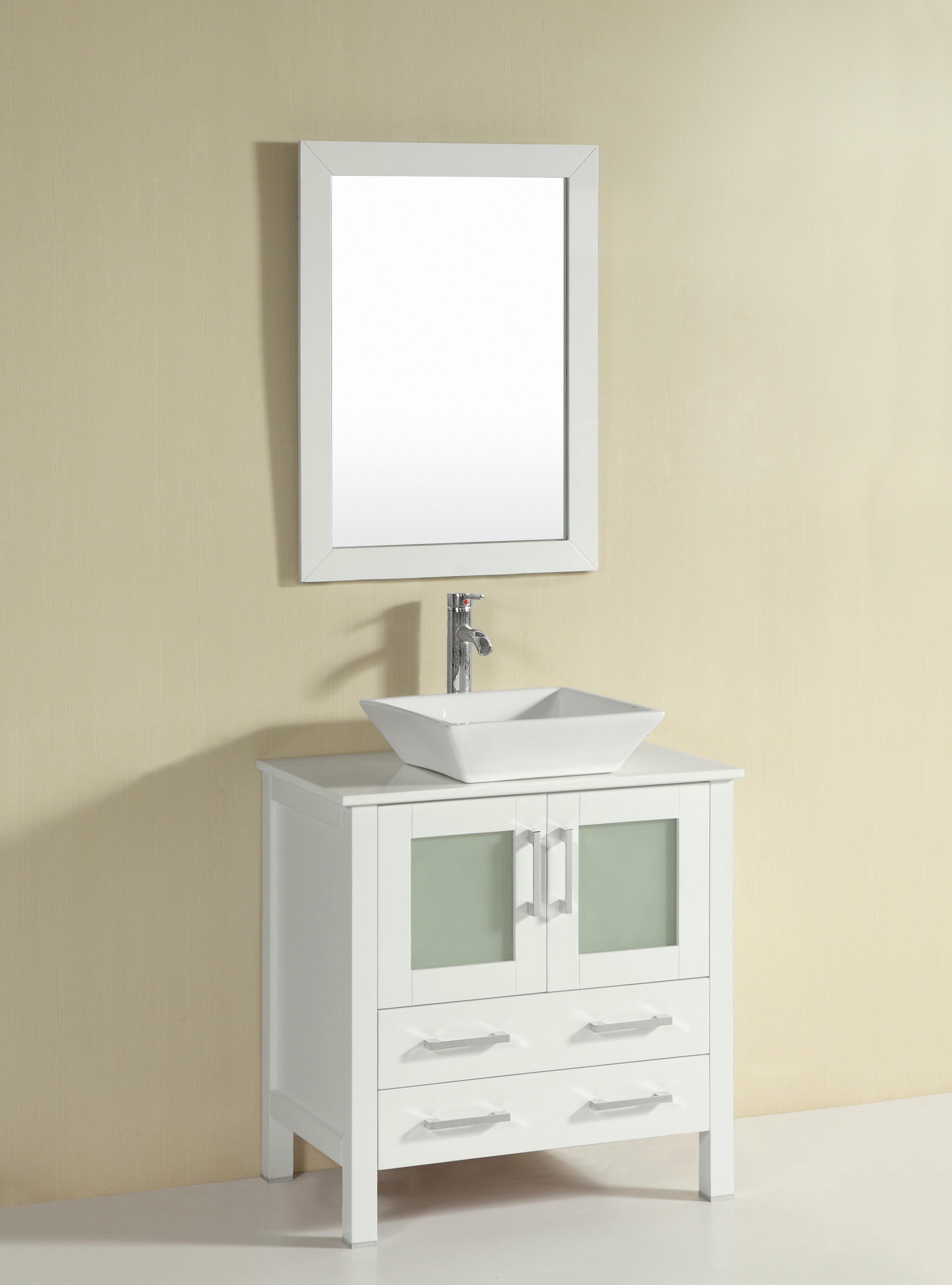 Azalea 30 Inch White Vanity Ak Trading Home Options
