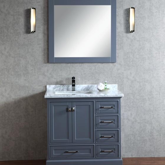 Lir 36 Inch Grey Vanity 2