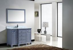 Lyra 48 Inch Grey Vanity 1