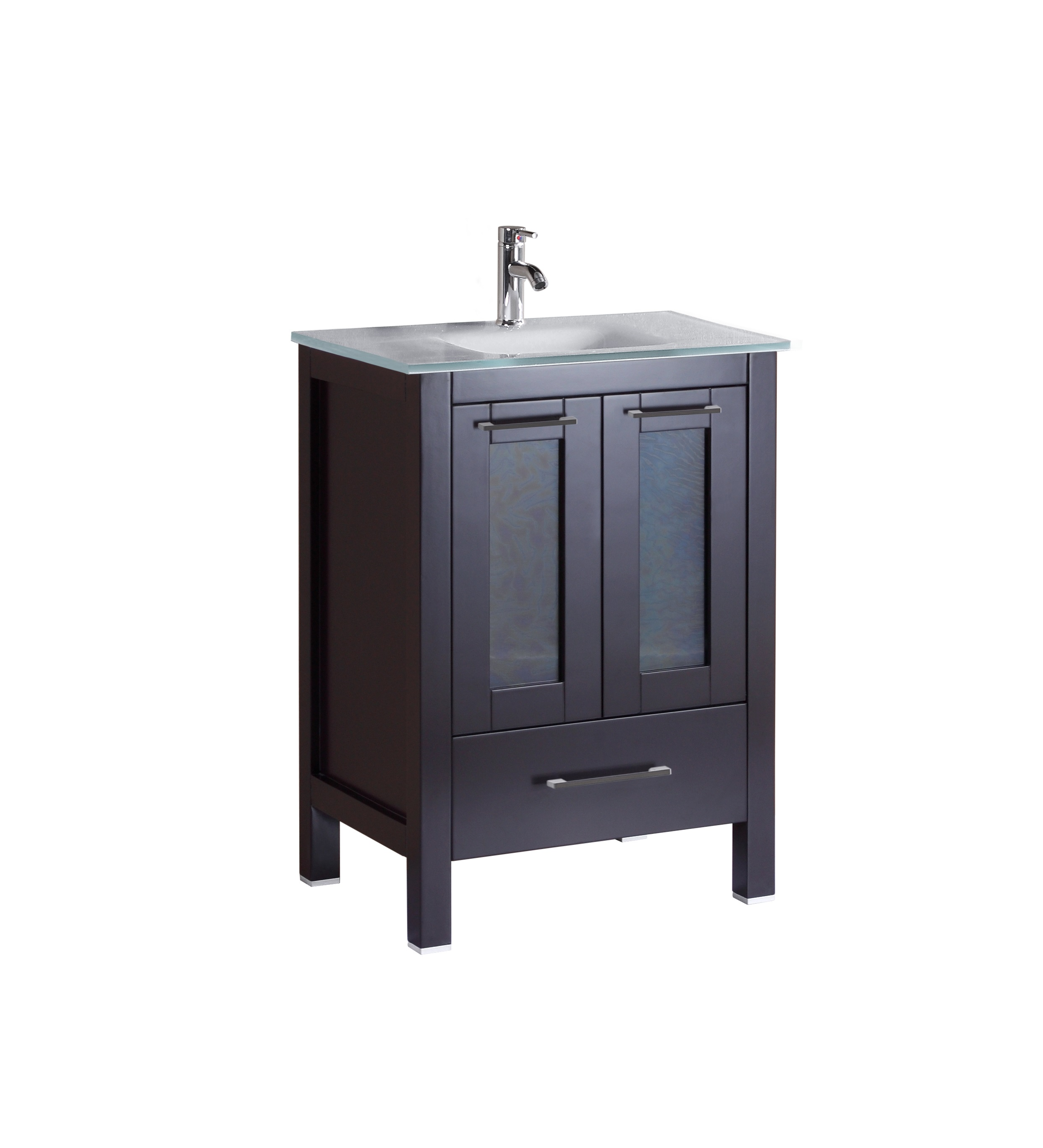 Serpens 24 inch espresso vanity ak trading home options for Bathroom 24 inch vanity