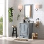 Bilberry 24 Inch Charcoal Grey Vanity 2