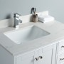 Lir 36 Inch White Cloud Carrera Quartz Vanity 2