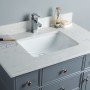 Lyra 36 Inch Charcoal Grey Cloud Carrera Quartz Vanity 2