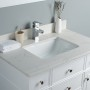 Lyra 36 Inch White Cloud Carrera Quartz Vanity 2