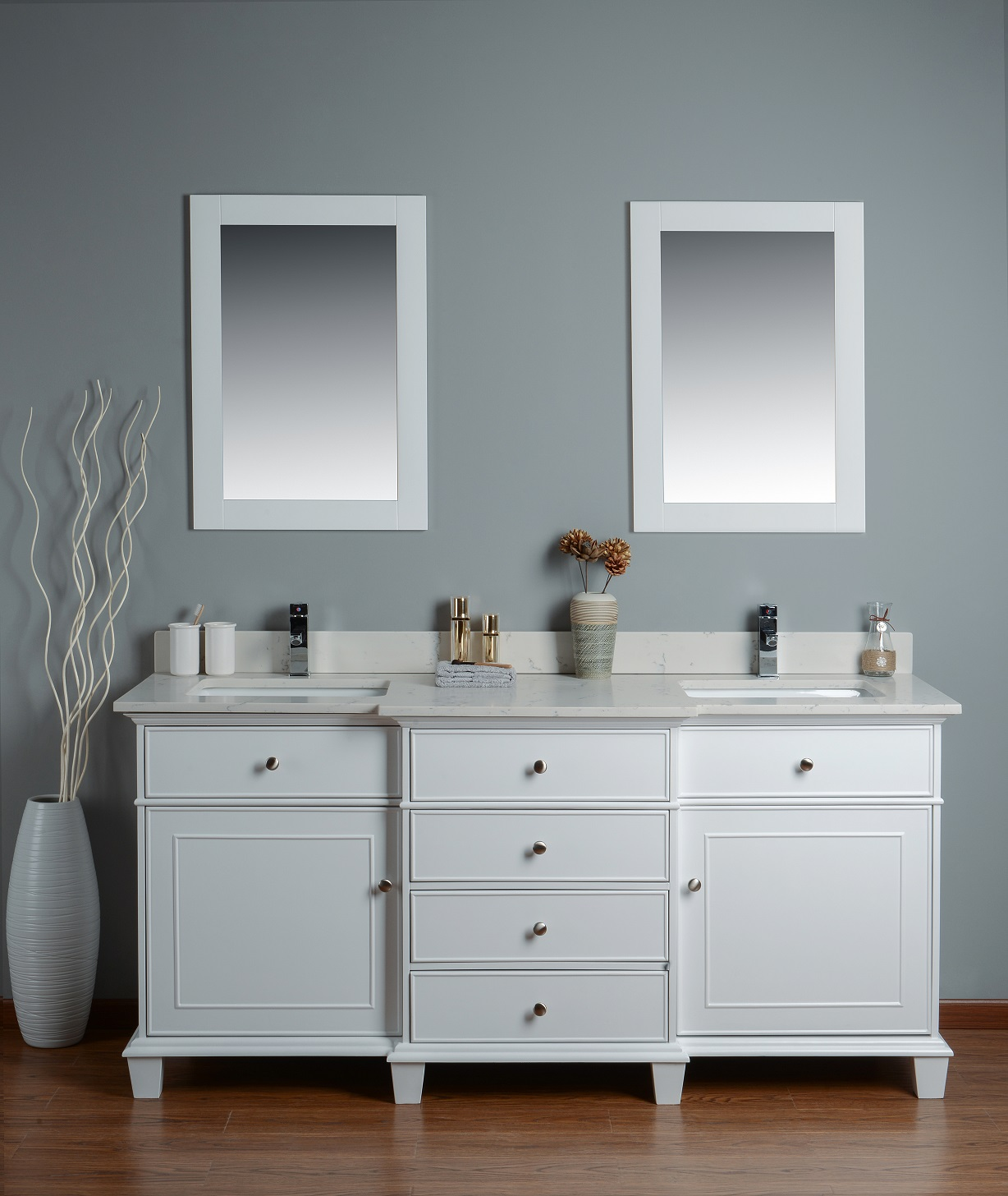 sink vessel white ash double alvelo bathroom vanity