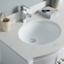 Perseus 60 Inch White Cloud Carrera Quartz Vanity 1