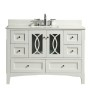 Heather 48 Inch White Vanity 2