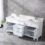 Heather 72 Inch White Vanity 1