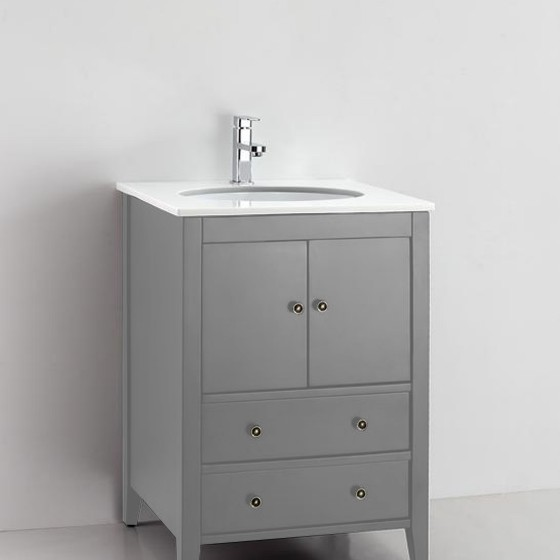 Cassia 25 Inch Cashmere Grey Vanity1