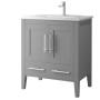Quartz 30 Inch Cashmere Grey Vanity
